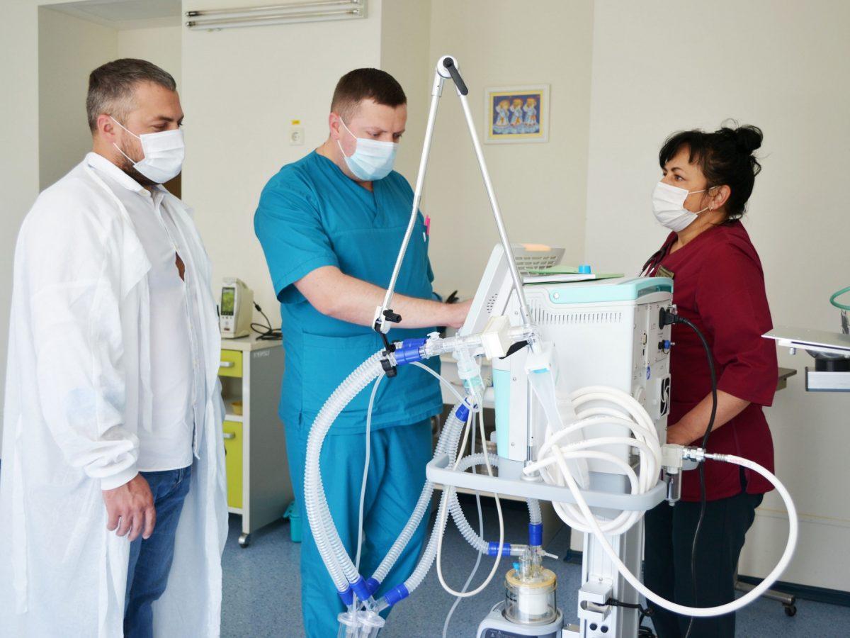 Сучасний апарат штучної вентиляції легень  AEOMED VG70