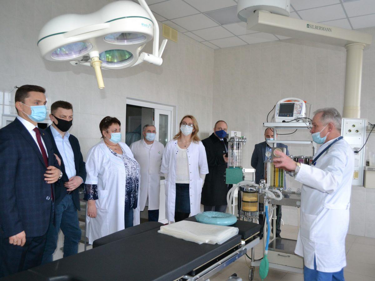 Робочий візит голови Тернопільської обласної ради
